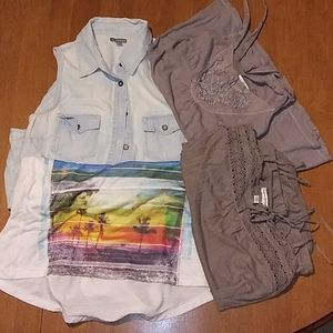 4 Tops Size Ladies XS (Xtra Small)